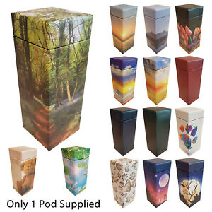 NEW! ScatterPod - Scattering & Eco Friendly Keepsake Cremation Urn - Various