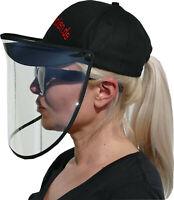 Basecap mit Maske,Visier, Faceshield, Gesichtsmaske, Spuckschutz, Blitzversand
