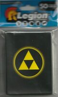 50 LEGION Absolute Triforce zelda MATTE DECK PROTECTOR CARD SLEEVES Pokemon mtg