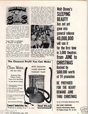 1959 PAPER AD Flexy Racer Flexible Flyer Wheeled Toy Article Vogue Doll Article