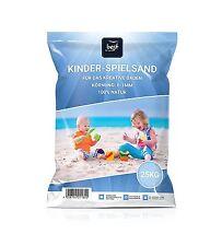 Best For Garden 25kg Spielsand Quarzsand für Sandkasten Sandkiste Dekosand