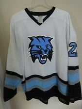 """Lynx"" Ulrich-Dogonnux # 27 Req / Minor League Hockey Jersey Men XL White"