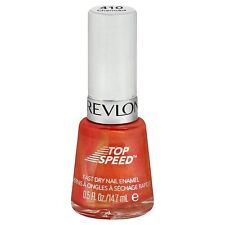 NEW Revlon Top Speed Fast Dry Nail Polish Enamel CHARMED 410 - 0.5 Fl Oz