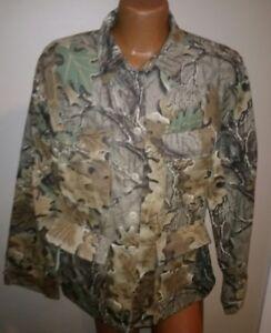 Men's  Atlanco Button up Shirt Advanced  Camo medium USA
