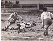 Calcio-Football Foto Azione Juventus-Modena 1962, Stacchini-Barucco-Goldoni