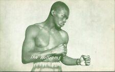 Vintage Photo Card  BOXER IKE WILLIAMS  LIGHTWEIGHT CHAMPION  RARE!!