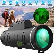 2020 New Day & Night 40x60 Binoculars Zooming Bak4 Hunting Camping Telescope
