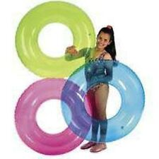 "NEW LOT OF (6) INTEX 59260EP 30"" TRANSPARENT SWIM TUBES SWIMMING POOL FLOAT"