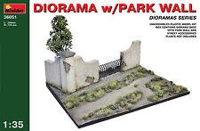MiniArt 1/35 36051 Diorama w/Park Wall (WWII Military Diorama)
