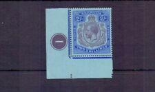 BERMUDA 1927 GV 2/- PLATE CORNER MARGINAL SG88 MH CAT £50