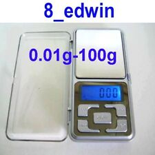 Quality Pocket Digital Scale 100g - 0.01g - Use AAA Battery, Fast Shipping !