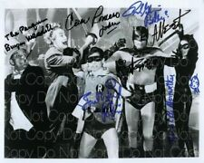 Batman Cast signed Original West Burt 8X10 photo picture poster autograph RP