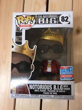 Funko Pop! Vinyl Rocks 82 Notorious BIG w/ Crown NYCC 2018 Exclusive BNIB