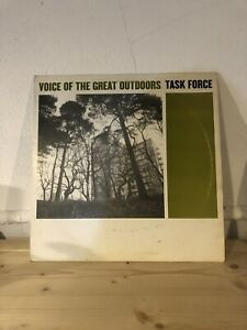 TASKFORCE VOICE OF THE GREAT OUTDOORS 12 Inch Vinyl Record