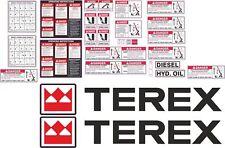 Terex BT3670 Decal Kit