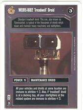 Star Wars CCG Premiere White Border WED15-1662 Treadwell Droid