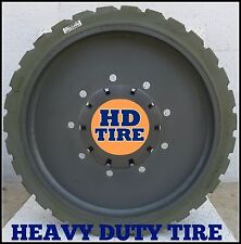 22 x 7 x 17.75  Solid Non-Marking (Rear) Tire 22 x 7-17.75, Genie 9 Bolt X 1