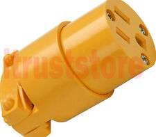 Industrial 125 Volt Female Electric Plug 3 Wire Connector 15 Amp 125V NEMA 5-15P