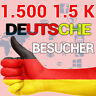 1500 DEUTSCHE ECHTE WEBSEITEN-BESUCHER - Real Website-Traffic Germany SEO