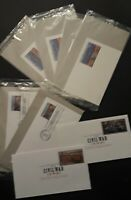 USPS Stamp Lot (8 Stamped Envelopes)  New Unused 6 Are Factory Sealed Excellent