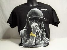 Lil Wayne Black & White & Gold T-Shirt Size Medium Rap Hip Hop Music