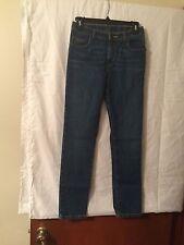 LL Bean Light Stonewash Blue Jeans Girls 12 Slim Fit Adjustable Waist NWT Skinny