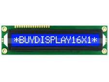 5V 16x1 Blue LCD Big Character Module Display HD44780 Controller w/Tutorial