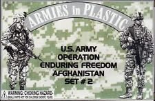 ARMIES IN PLASTIC 5577 MODERN WAR US ARMY AFGHANISTAN OEF 18 Figures FREE SHIP