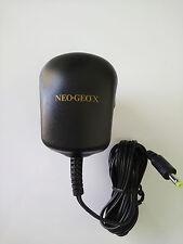 ES-NEOGEO X AC ADAPTER ORIGINAL UK PLUG 100-240 NEW