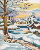 Winter  Scene :  Anchor  Tapestry  Kit : MR844