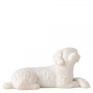 Willow Tree Figurine - Love my Dog (Lying) 27790 By Susan Lordi