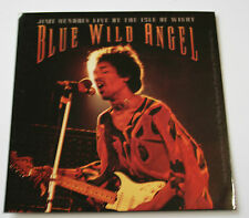 JIMI HENDRIX Blue Wild Angel Original Collectable Sticker Official 2003