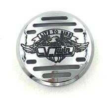 Chrome V-Twin Horn Cover- For Yamaha V-Star 650 Vstar Classic Custom (Fits: Yama