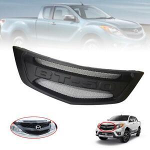 "New Front Net Mesh Grille Grill Black Logo ""BT-50"" Fits Mazda BT50 BT-50 2012-18"