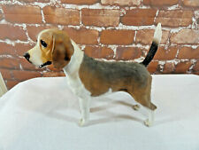 "VTG  standing alert *BEAGLE*  Cute BIG 9"" tall figurine Great condition~Detailed"