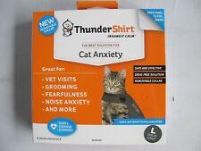 Thundershirt Classic Cat Anxiety Jacket Large Heather Gray T02-Hgl