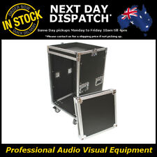 16 Unit Rack Road Flight Case with Mixer Flightcase Roadcase 16RU AIRC-B16UWM
