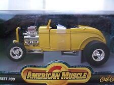 ERTL - AMERICAN MUSCLE - (1932) '32 FORD HIGHBOY STREET ROD - 1/18 DIECAST