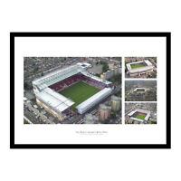 West Ham Boleyn Ground Upton Park Aerial Photo Stadium Memorabilia (WHUM)