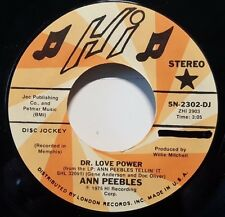 "Ann Peebles ""Dr. Love Power"" 7"" 45rpm PROMO Soul NM"