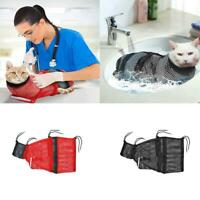Kitten Cat Bath Grooming Bag Schwarz No Biting Scratching Restraint Nail