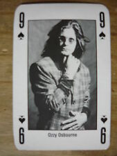 OZZY OSBOURNE - KERRANG PLAYING CARD