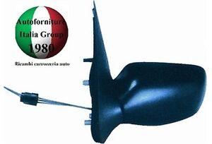 SPECCHIO RETROVISORE SX MECCANICO NERO MAZDA 121 96>99 DAL 1996 AL 1999