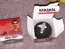 2 Brand new Karakal Red Dot Medium Speed Beginner/junior Skill Squash Balls