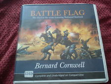Bernard Cornwell 14 CD Audio Book BATTLE FLAG Read By Hayward Morse 15hrs