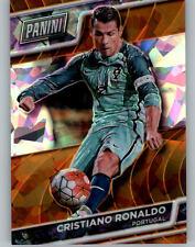 2016 PANINI NATIONAL VIP GOLD CRACKED ICE ORANGE CRISTIANO RONALDO # 4/25 RARE