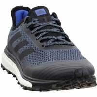 adidas Response Trail Mens Running Sneakers Shoes    - Black