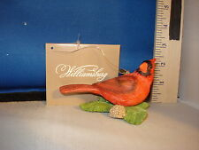 Cardinal Ornament with Holly Williamsburg Collection 66504 163