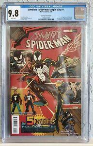 SYMBIOTE SPIDER-MAN KING IN BLACK #1 (2021) NM/M CGC 9.8 Superlog Var MISTER E