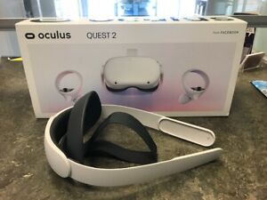 Oculus Quest 2 64GB Most Advanced All-In-One VR Headset + HeadBand Boxed